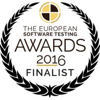 The European Software Testing Awards 2016 Finalist