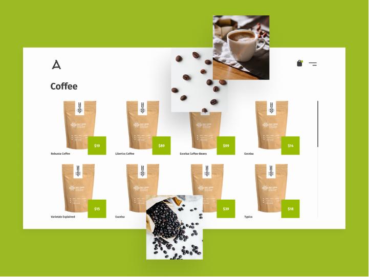 Angelinos Coffee & Tea Online Store 2